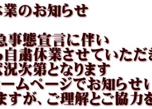 野田幸手園、三島湖、戸面原ダム、亀山湖・・・休業か。