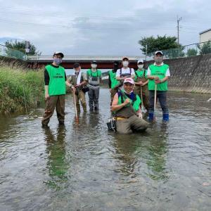 ルアマガ+『入間川水系霞川で行われた在来魚を増やす産卵床の造成【オイカワを増やそう】』