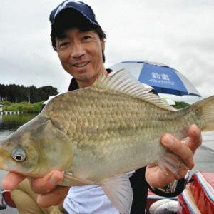 中日スポーツ『筑波湖でチョウチン両ダンゴの釣り 肉厚の「バコベラ」交え34匹』