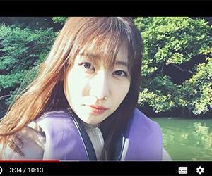 """MusicVoice『柏木由紀""""彼氏目線""""の釣りデート動画、あくび顔も「可愛い」』"""
