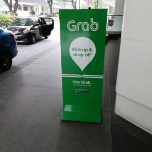 配車アプリGrabの使いやすさナンバー1、マレーシア