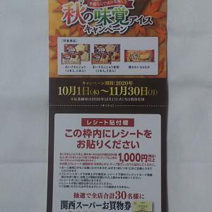 関西スーパー×丸永製菓 共同企画 「秋の味覚アイスキャンペーン」