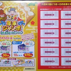 森永製菓「年末ジャンボ当たるかも!?キャンペーン」