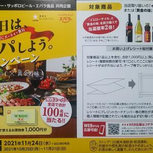関西スーパー・サッポロビール・エバラ食品 共同企画 「今日は、うちパしよう。キャンペーン」