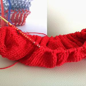 袋編み…こんな便利な編み方があったんだね。