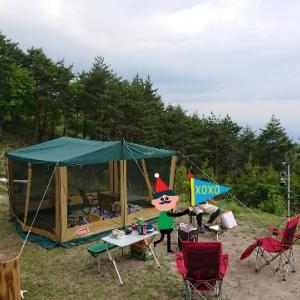 陣馬形山キャンプ場《キャンプ回顧録》