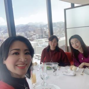 センチュリーロイヤルホテル「ロンド」での新年会/  北海道 札幌 数秘術 タロット