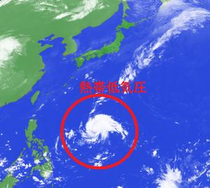台風20号に成長か!?フィリピン沖で熱帯低気圧が発生(2019年10月15日)