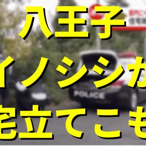 八王子でイノシシが住宅に立てこもって警察が包囲 全国放送で大騒ぎ