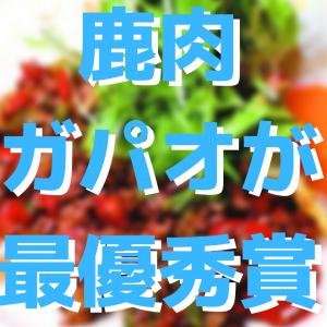 【ジビエレシピグランプリ】「シカ肉のガパオライス」が最優秀