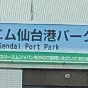 シャコエビ ゲット!! in スリーエム仙台港パーク