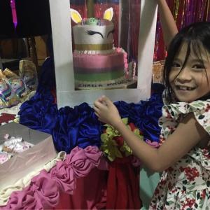 貧乏暇なしw  娘の誕生会 from Cebu