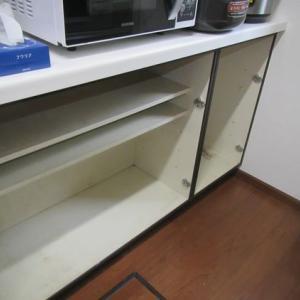 キッチン戸棚は難敵。その2
