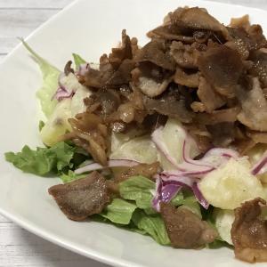 【レシピ】焦がしバターじょうゆのポテトサラダ|キューピー3分クッキング
