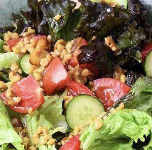 【男子ごはん】「納豆ドレッシングのサラダ」のレシピ  #677 旨味の強い納豆にこだわった絶品料理3品!