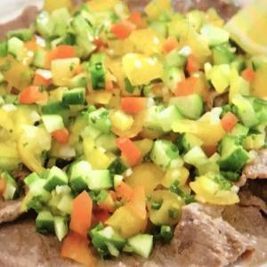 【志麻さんレシピ】夏野菜の牛肉カルパッチョ|伝説の家政婦・タサン志麻|沸騰ワード10
