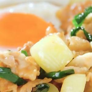【志麻さんレシピ】豚らっきょう丼|伝説の家政婦・タサン志麻|沸騰ワード10