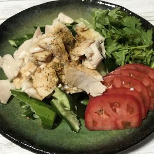 【instagram】茹で鶏とたたききゅうりのサラダ|栗原はるみレシピ