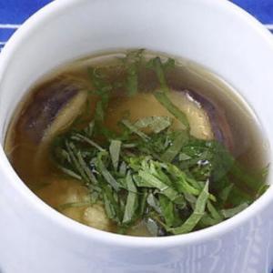 【男子ごはん】「ナスの梅肉スープ」のレシピ|#584 梅肉チキンカレー&ナスの梅肉スープ