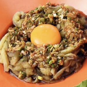 【男子ごはん】「ナスの冷やし麺風 香味ダレ」のレシピ| #579 トマト!ズッキーニ!ナス!夏野菜を美味しく食べよう!!第3弾