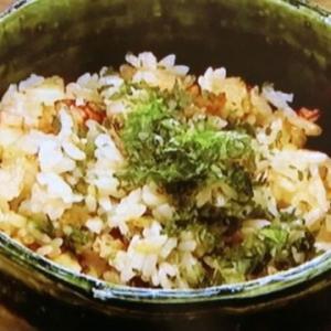 【男子ごはん】「タコ飯」のレシピ| #564 春の和定食2019