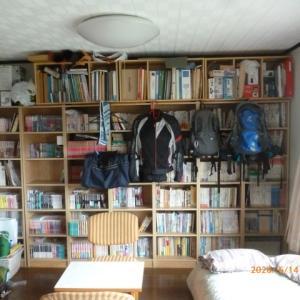 本棚の整理整頓