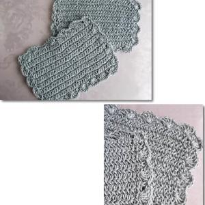 かぎ針編みのティーマット