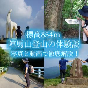 陣場山|登山おすすめコース体験談【駐車場アクセス&服装と靴】