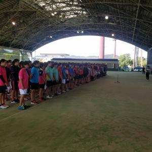 第72回 尾三地区高等学校ソフトテニス新人選手権大会