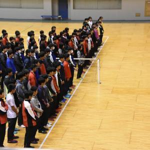 第58回 広島県高等学校ソフトテニスインドア選手権大会