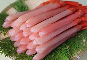 【北海道稚内市】紅ズワイがに生冷ポーション500g
