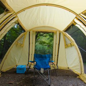 【山梨】カマボコテントでソロキャンプ