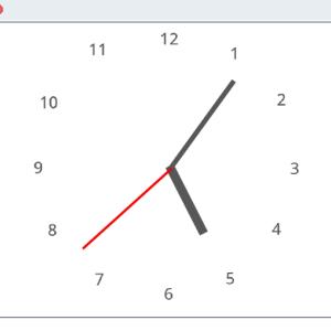 Scratch(スクラッチ):シンプルなアナログ時計の作り方