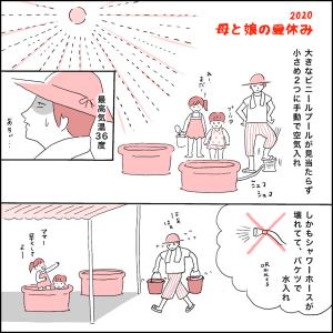【漫画】「母と娘の夏休み」(2020)