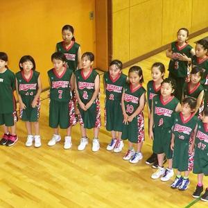 第15回野々市市ミニバスケットボール交流大会に参加しました。