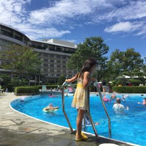 有馬グランドホテルのプールで遊んだよ♪かいちゃんプールデビュー!かいのせかい【動画有り】