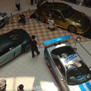 モレラ岐阜でワイルド・スピード車両展示!ワイスピ最新作公開記念イベントで大興奮!