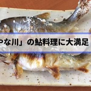 「やな川」の鮎料理に大満足!やなで自然を感じながら食べる旬の味がたまらない