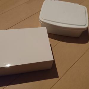ウェットティッシュ、トイレクリーナー、おしりふきの白いケース  山崎実業Veilウェットティッシュケース