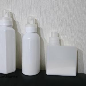 白い詰め替えボトル大集合【我が家の白い詰替容器】