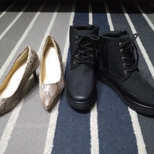 ワーママミニマリストの秋冬の靴の買い足し【パンプスとブーツ】