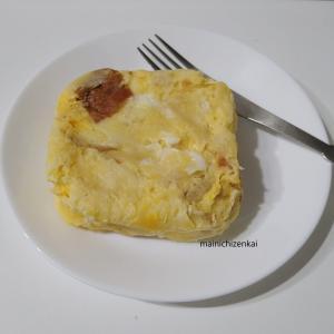 レンジ3分で失敗しないフレンチトースト【時短レシピ】火を使わない・テレワークの昼食にも◎