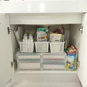 洗面台下の収納 シャンプーや歯ブラシのストック管理の工夫