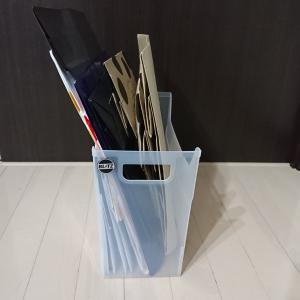 紙袋の収納方法 適正量・定位置管理