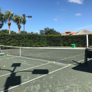 日曜日はテニスのコソ練習の日です。