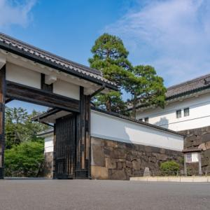 Edo castle ruins is now the place where the royal family lives