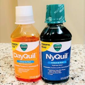 風邪薬のDayQuilとNyQuil