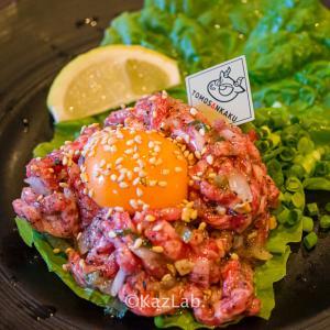 柏に焼肉の名店!コスパ最高の和牛ユッケと肉寿司を食べよう!