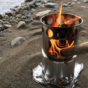 格安・小型の二次燃焼焚き火台で手軽に焚き火を楽しむ
