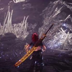 【MHW】龍結晶の落ちてくるトゲ見た目以上に判定広すぎだろ【アイスボーン】